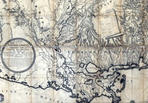 1806 map by Lafon